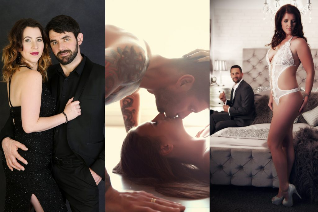 Couples boudoir photography by Johanna Elizabeth