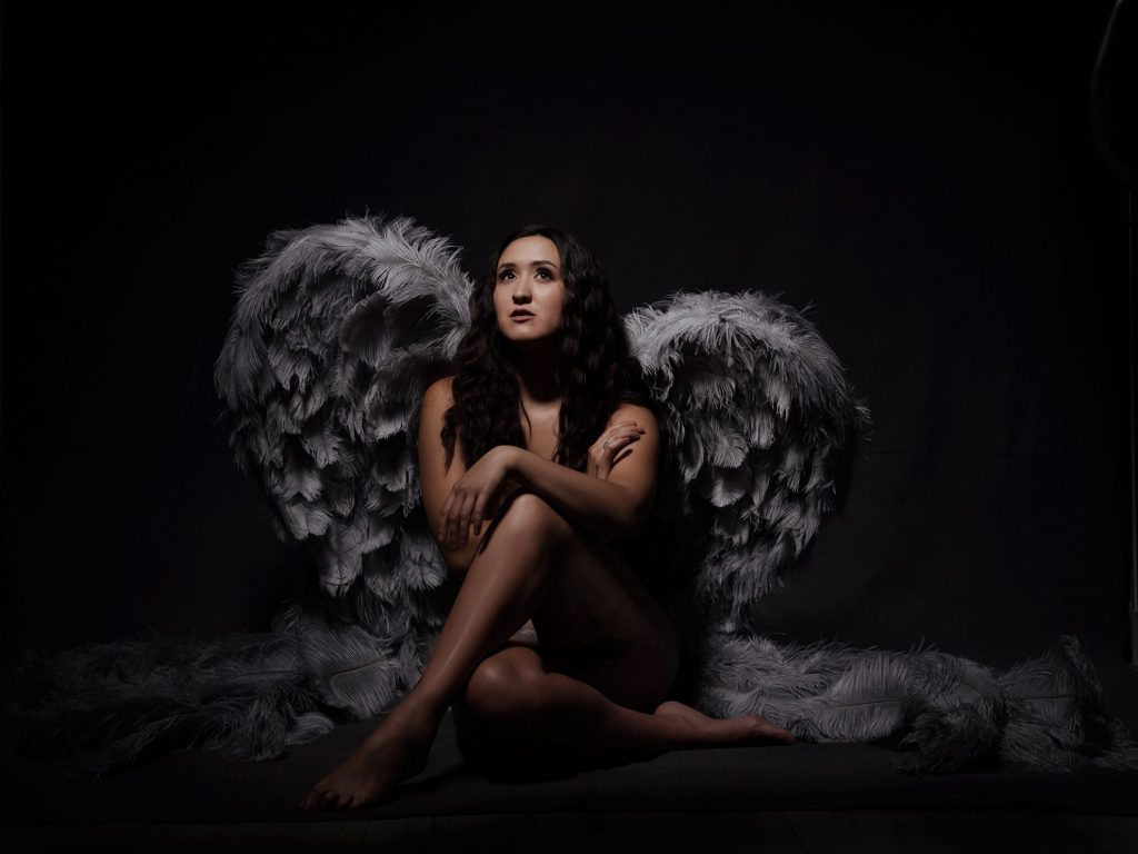 Eternal Angel portrait session by Johanna Elizabeth