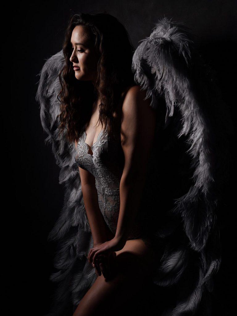 Eternal angel photoshoot