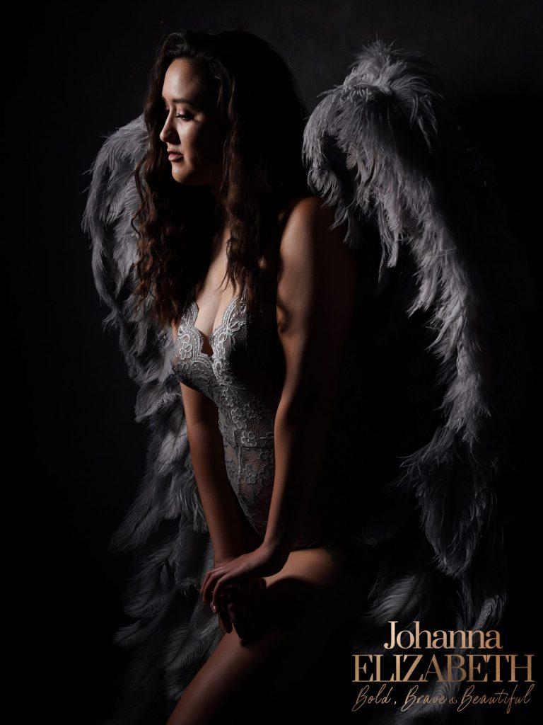 Angel wings photography by Johanna Elizabeth