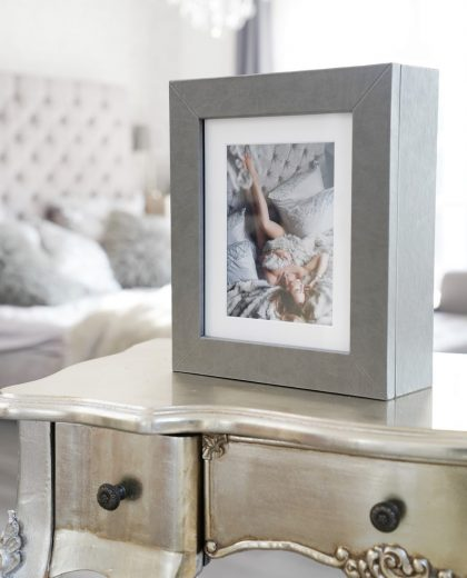 Display your photoshoot images in a beautiful Reveal box