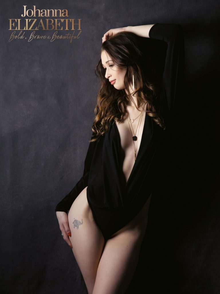 Boudoir photoshoot at Johanna Elizabeth