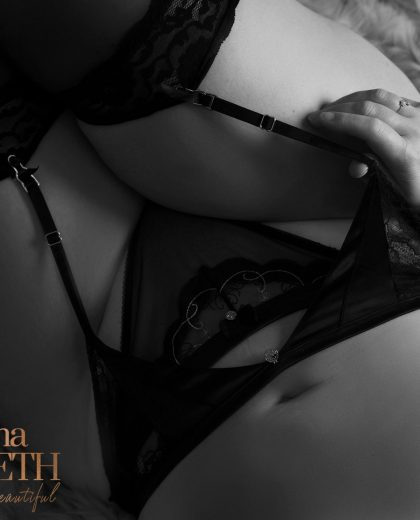 Boudoir photos by Johanna Elizabeth Photography