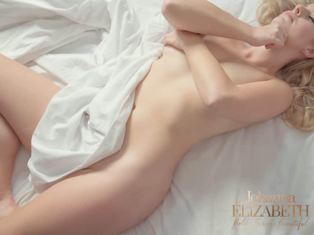White sheet photoshoot