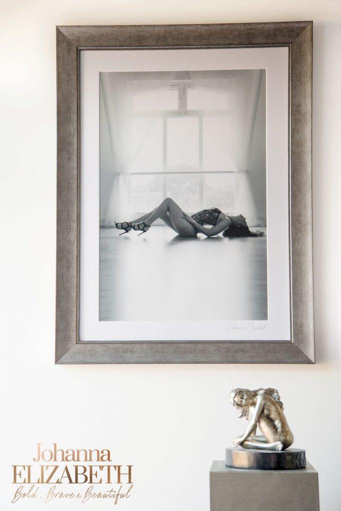 Framed wall art by Johanna Elizabeth