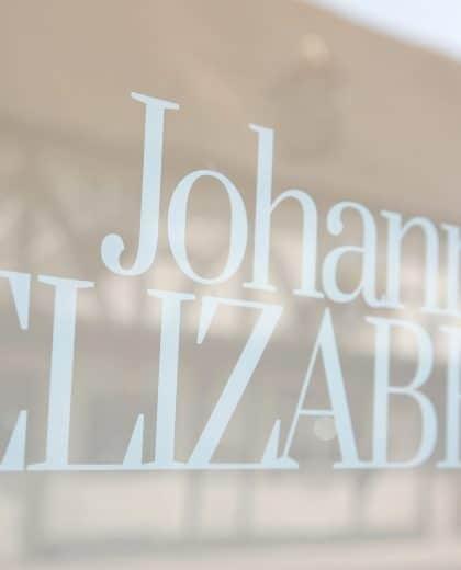 Johanna Elizabeth signage