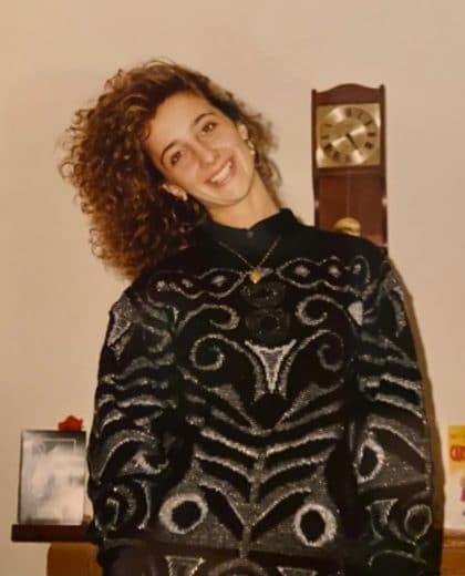 Loretta at 18 yrs old